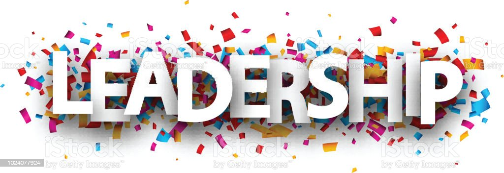 Leadership Banner With Colorful Confetti Stock Illustration Download Image Now Istock