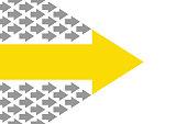 Leadership Concepts with Arrows