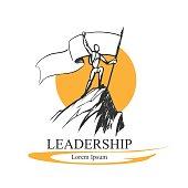 Leadership logo concept