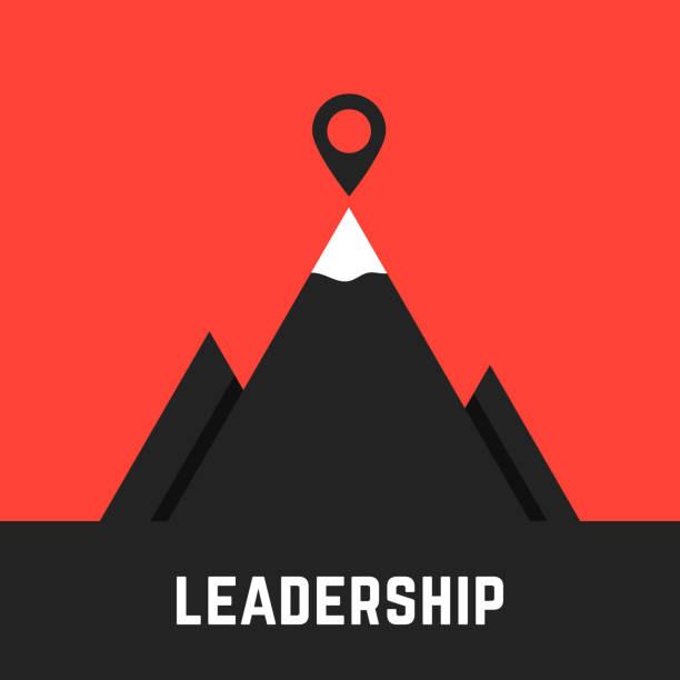 領導隱喻與黑山 - 進球 幅插畫檔、美工圖案、卡通及圖標