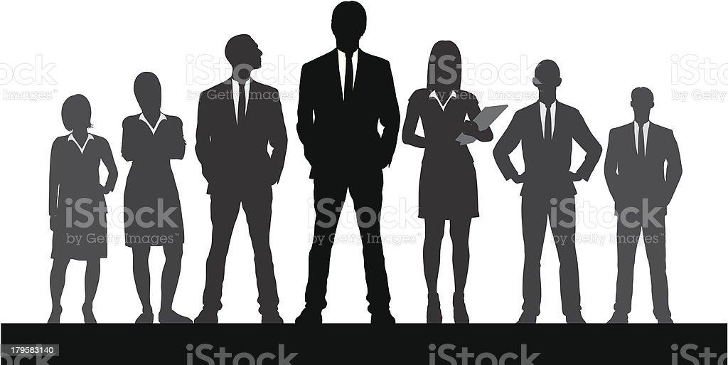 Leadership royalty-free stock vector art