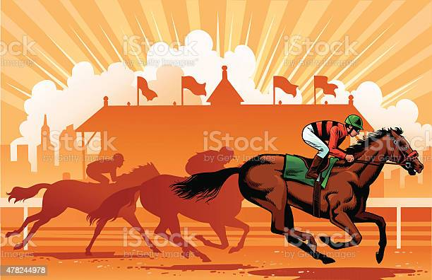 Leading thoroughbreds in the horse race vector id478244978?b=1&k=6&m=478244978&s=612x612&h=98rllt deg3qns1gyfi6mqpg thwtuzvtwdoqs1yfyw=