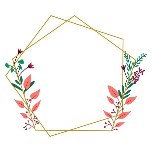 leaf background decoration vector design of background frame border stock illustrations