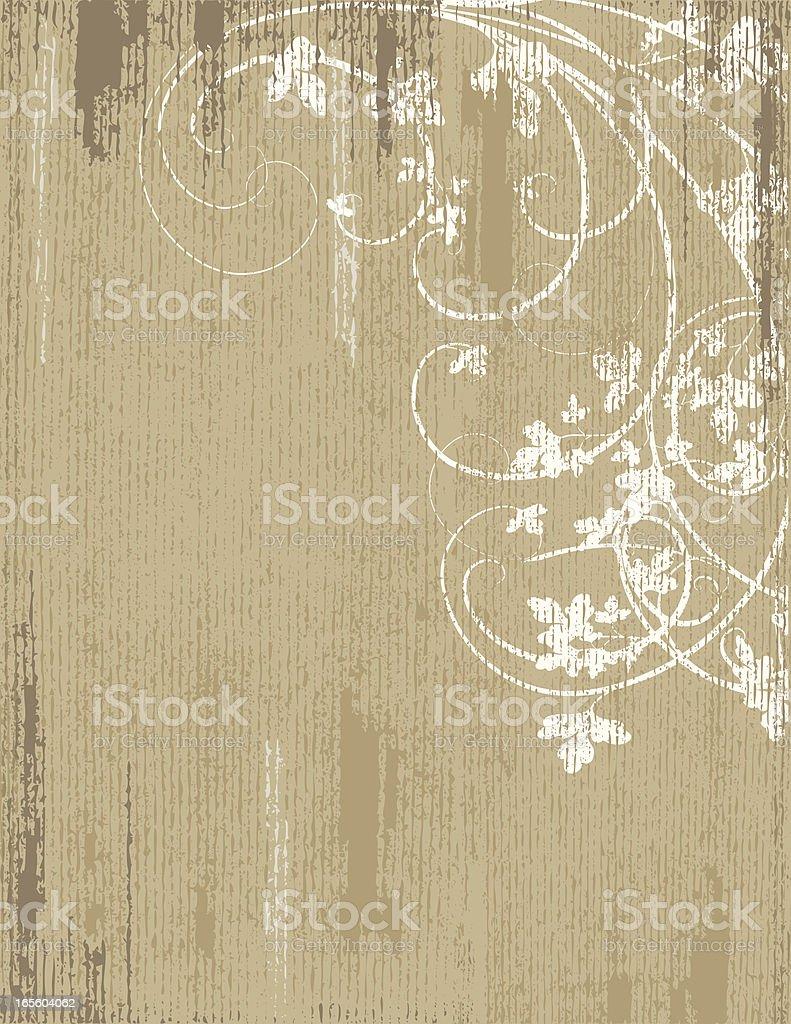 Leaf Grunge Background royalty-free stock vector art
