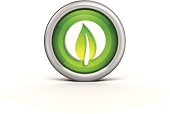 Leaf Icon illustration.