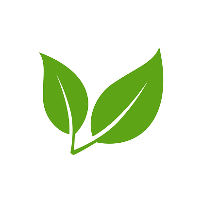 Leaf Icon - Vector Stock Illustration