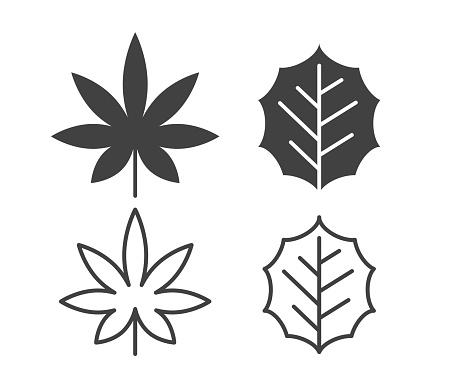 Leaf - Illustration Icons