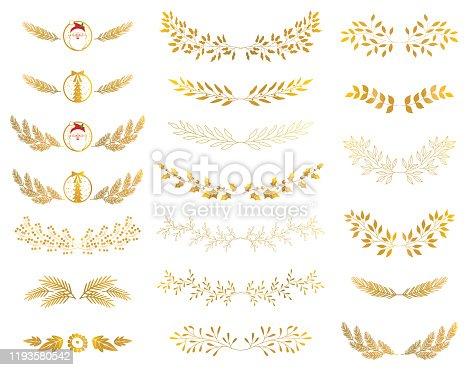 istock leaf ornament 1193580542