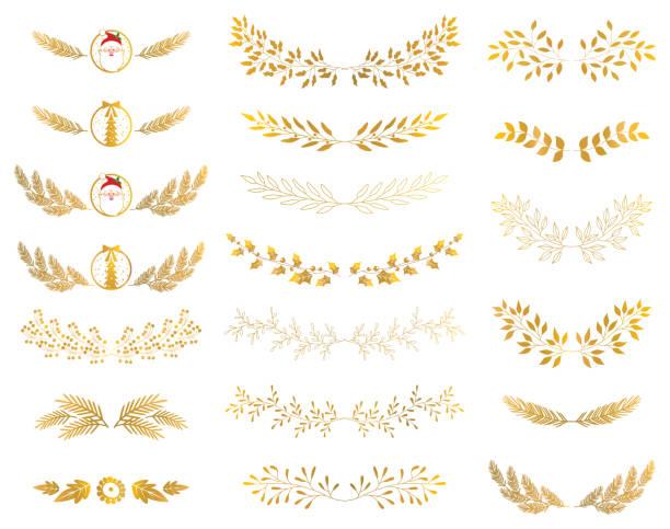 Blatt Ornament – Vektorgrafik