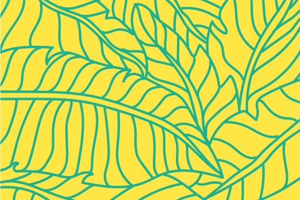 Blatt-Muster  – Vektorgrafik