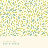 Leaf texture horizontal border seamless pattern background
