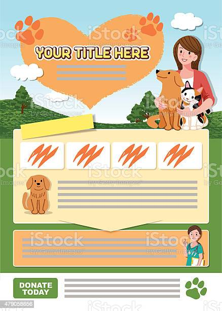 Leaflet design template for animal related organization vector id479058656?b=1&k=6&m=479058656&s=612x612&h=gngaqwtgrdm7fbk4zbm1mx5snqzkpujb0rgznxogtjm=