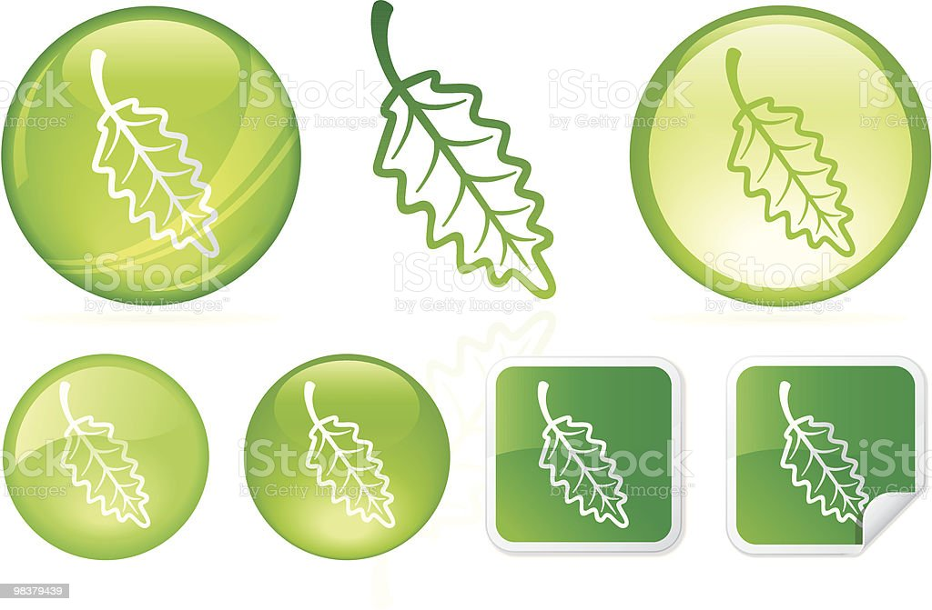 Leafy Goodness royalty-free leafy goodness stock vector art & more images of circle