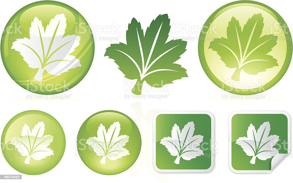 Leafy Goodness royalty-free leafy goodness stock vector art & more images of color image