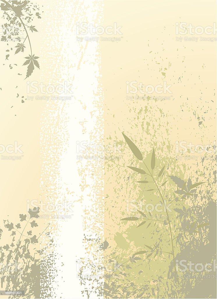 Leafy Grunge royalty-free stock vector art