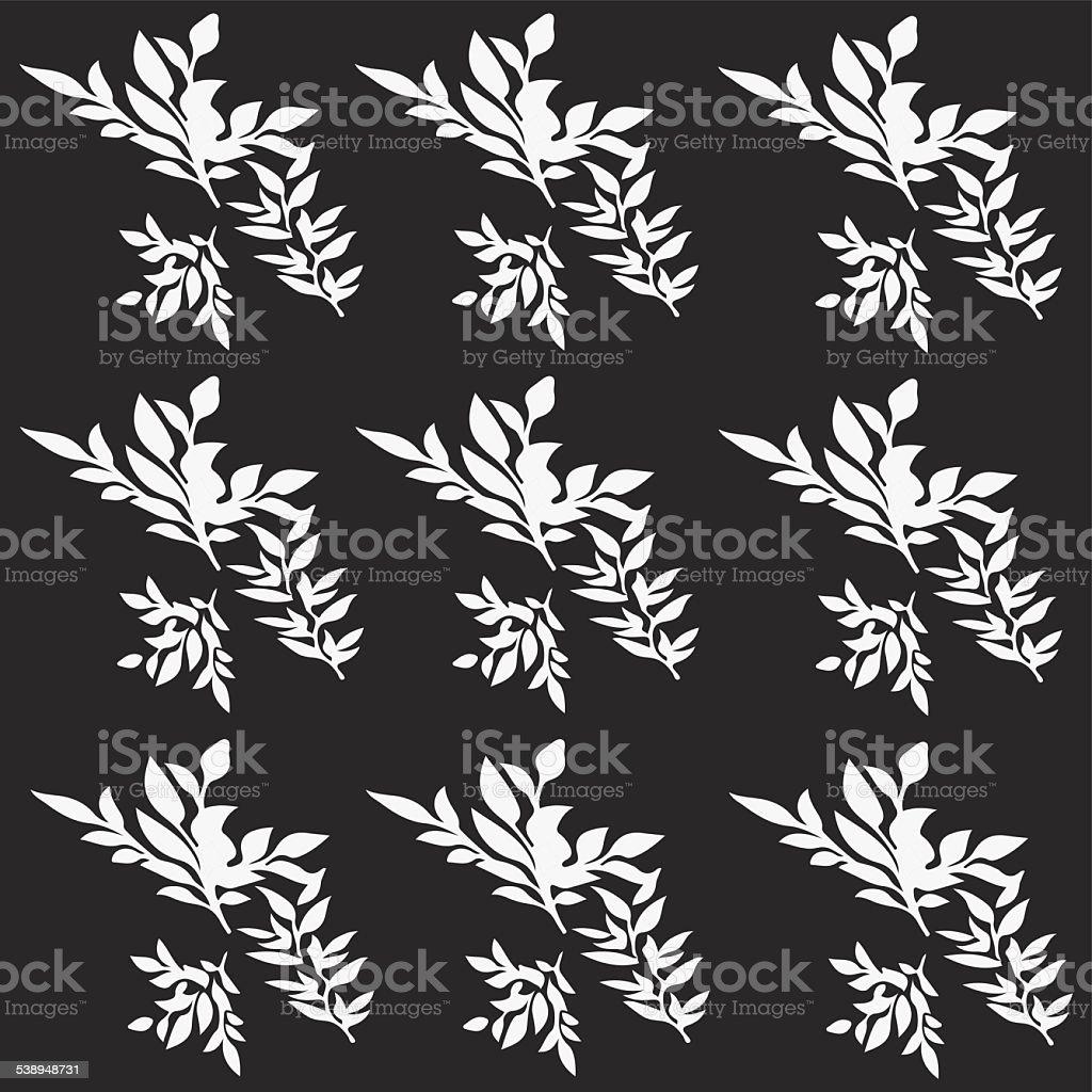 Grünen Muster – Vektorgrafik