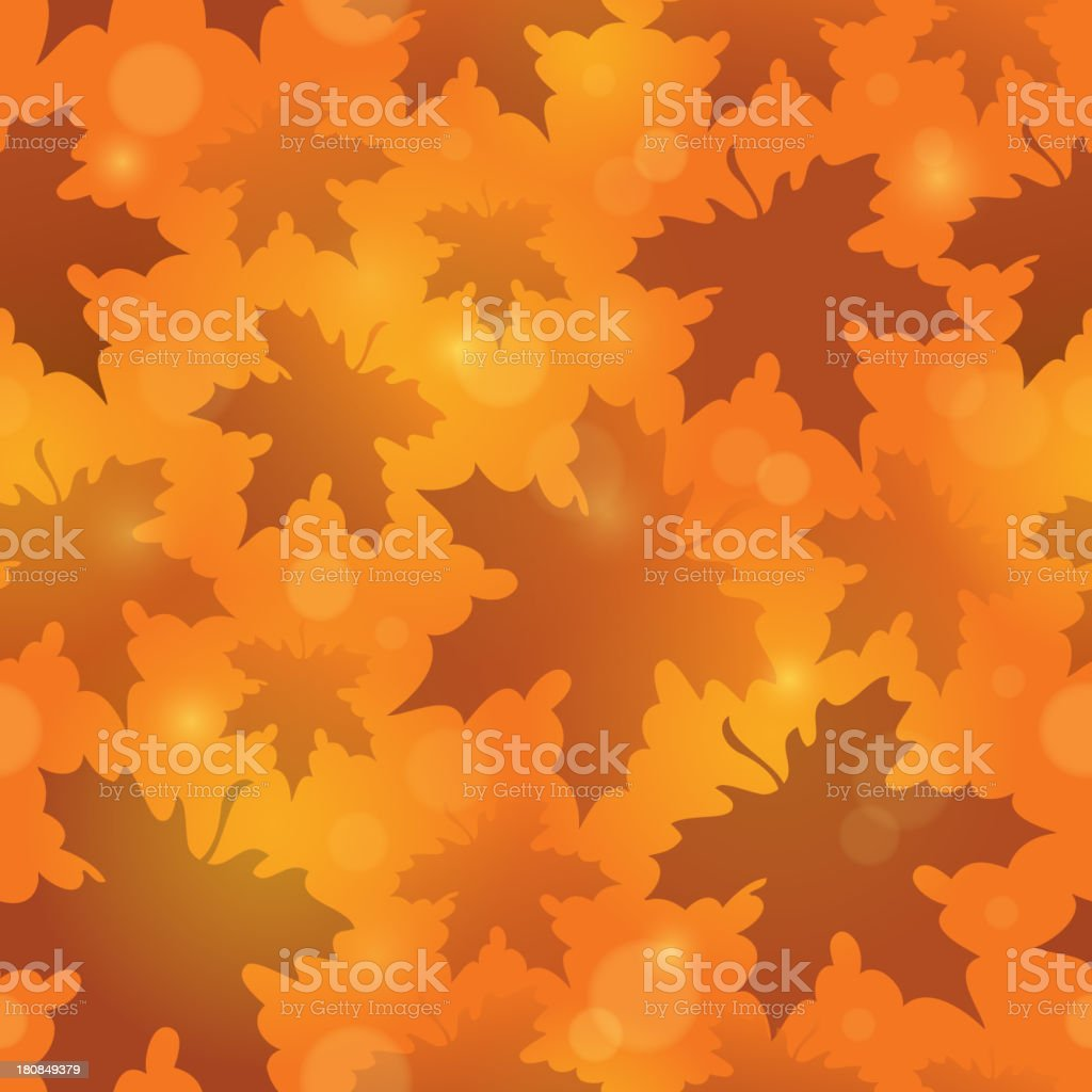 Leafy seamless background 4 royalty-free stock vector art