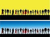 League of Superheroes Male and Female