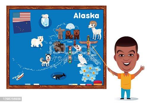 istock Learn abaut Alaska 1298258936