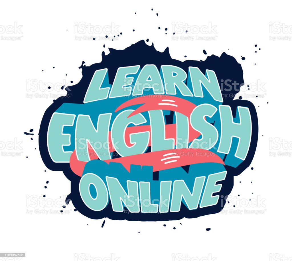 Learn English Clipart Creative Poster Web Banner Design Element Stock Illustration Download Image Now Istock