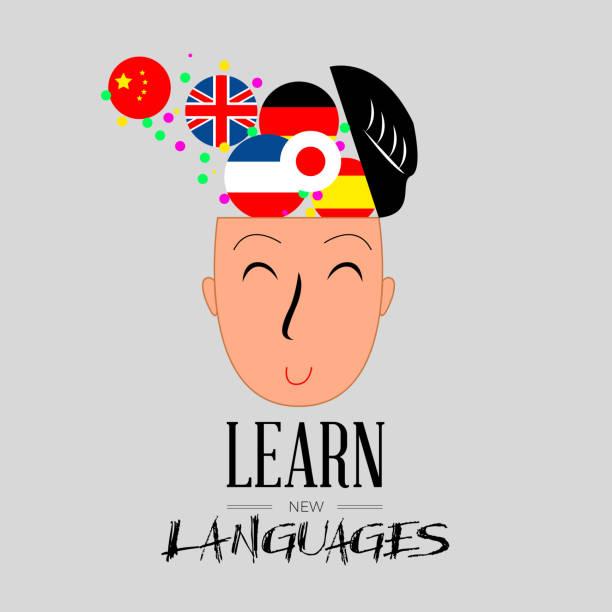illustrations, cliparts, dessins animés et icônes de apprendre la langue - cours de langue