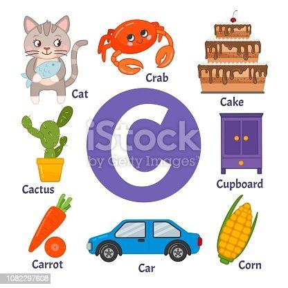 Learning card alphabet.