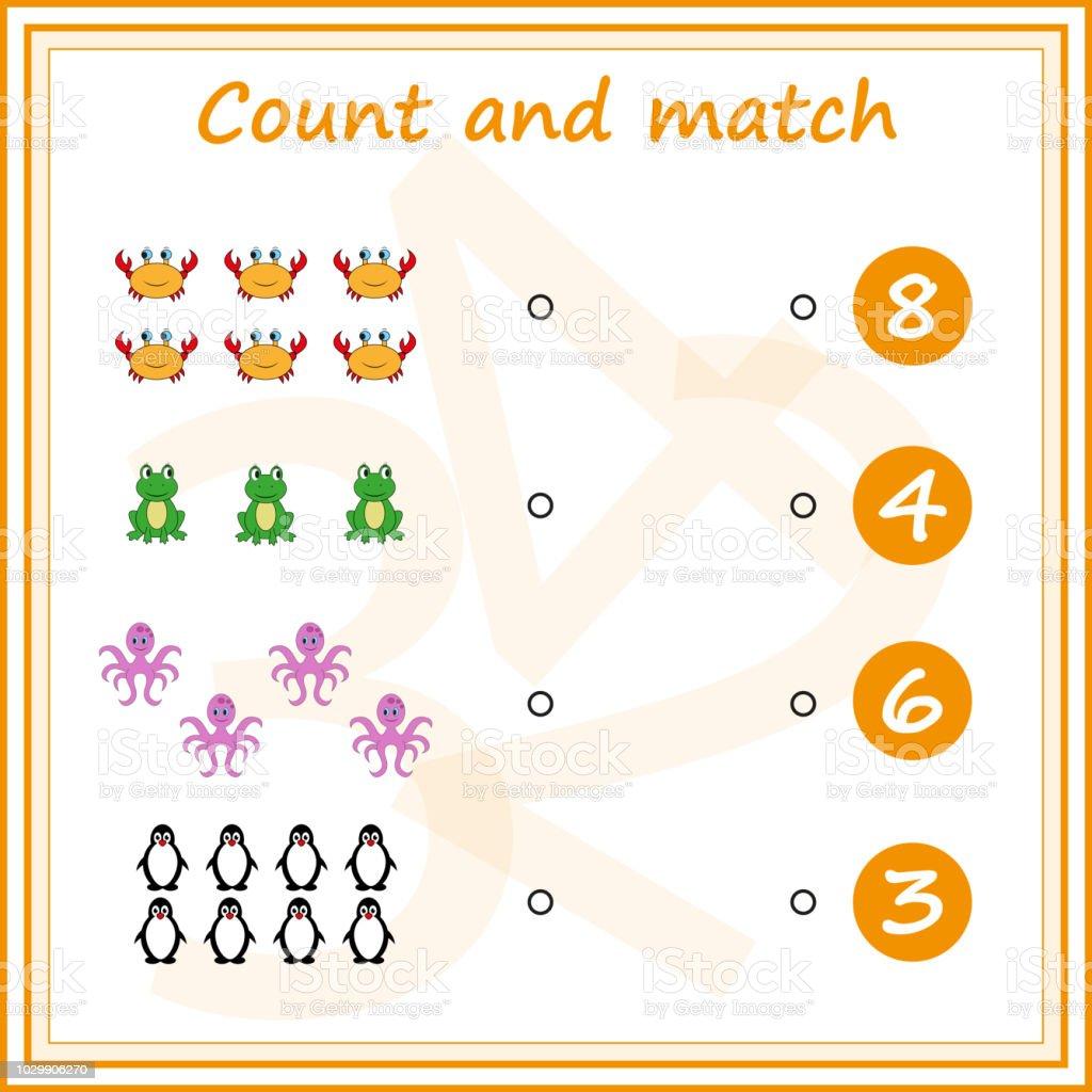 Ogrenme Matematik Okul Oncesi Cocuklar Icin Ek Gorevleri Calisma