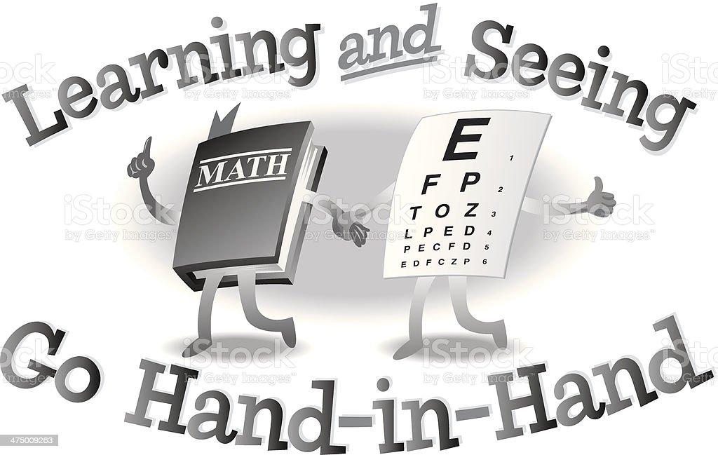 Aprendizaje Ver En Dirección Illustracion Libre de Derechos ...