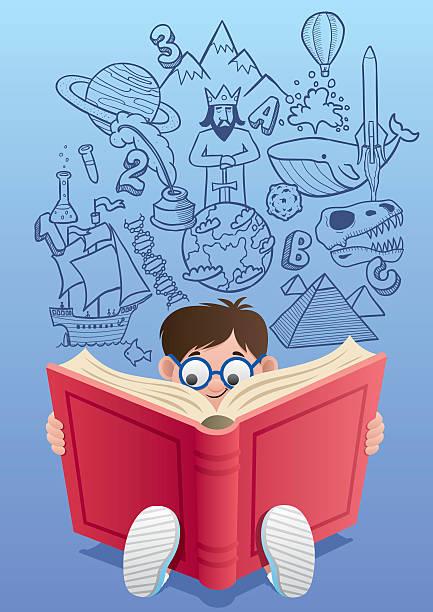 learning - imagination stock illustrations
