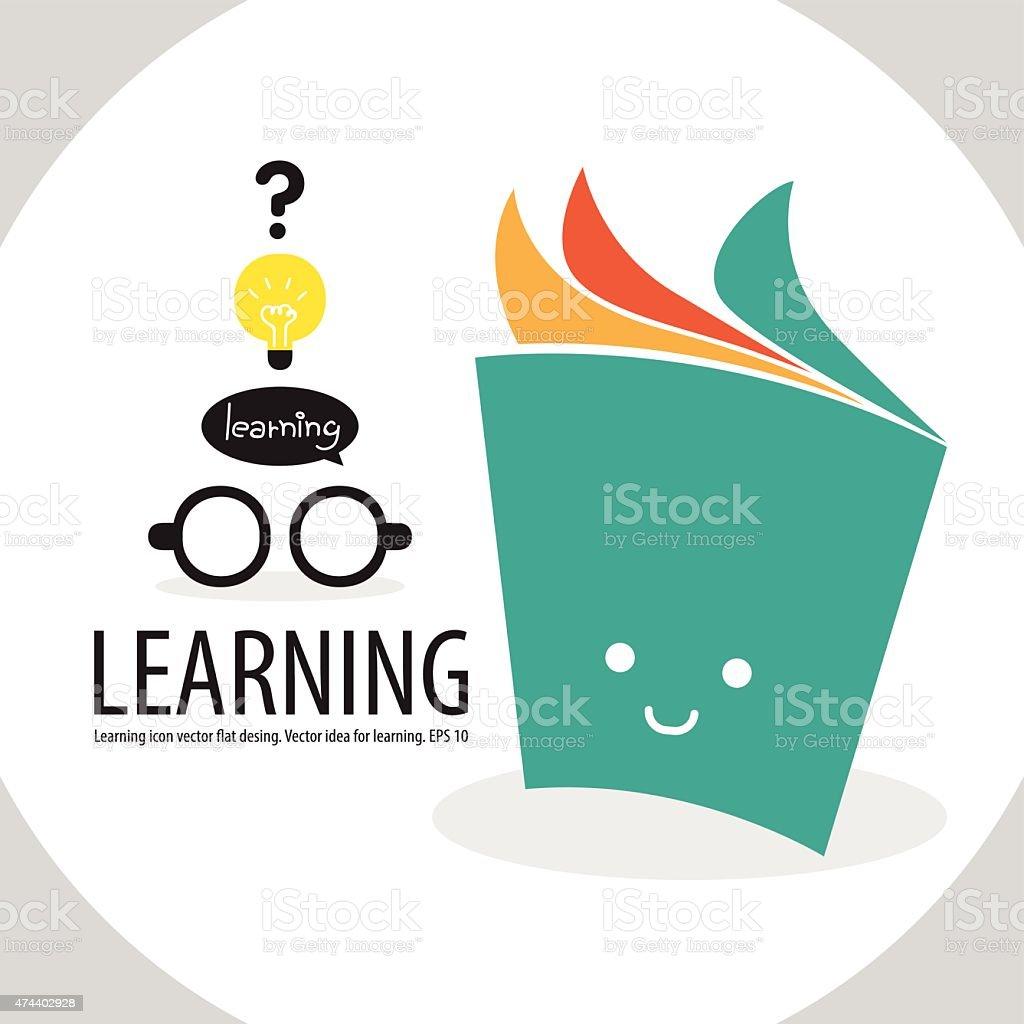 Learning3 vector art illustration