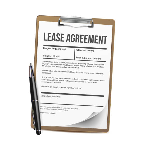 Lease Vector. Home Rent Blank Document Lease. Contract Loan Property. Illustration Lease Vector. Home Rent Blank Document Lease. Contract Loan. Illustration lease agreement stock illustrations