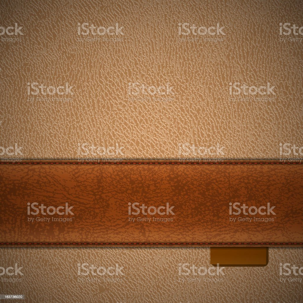 Leather backgroud vector art illustration
