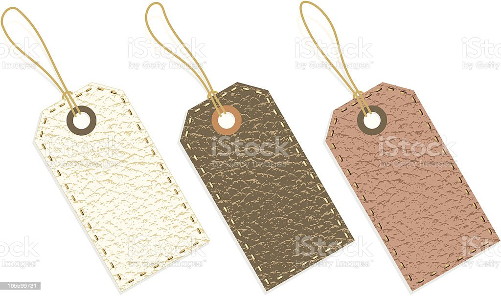 Leather Tags royalty-free leather tags stock vector art & more images of animal body part