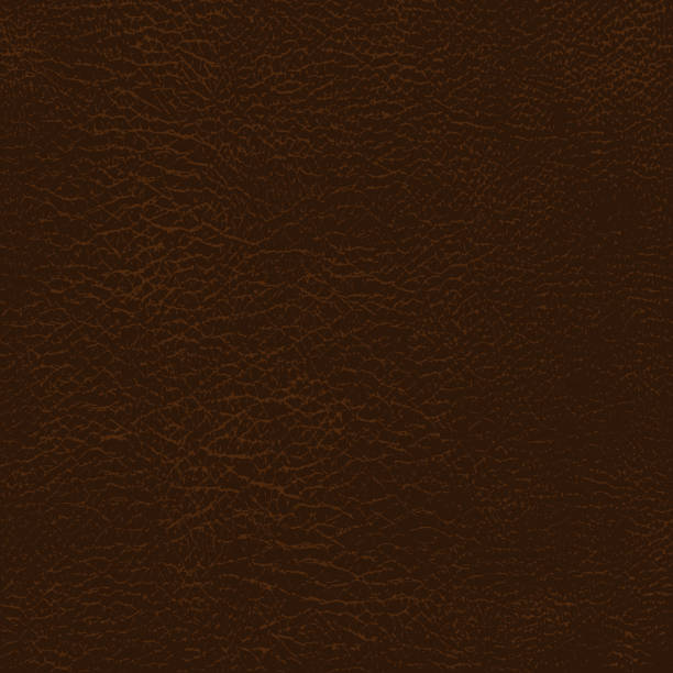 Leather texture background. vector Leather texture background. Brown Natural Skin Detailed pattern. Vector brown stock illustrations