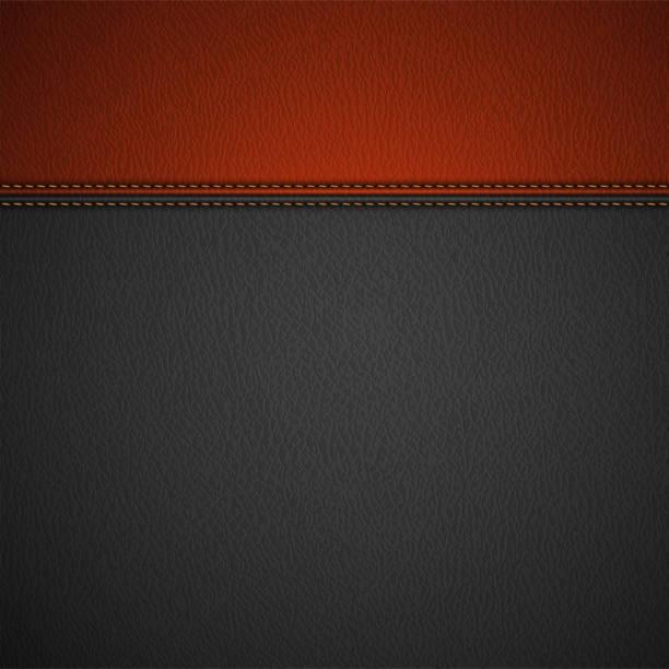 ilustraciones, imágenes clip art, dibujos animados e iconos de stock de textura de fondo de cuero fino rojo con sábanas - textura de pieles