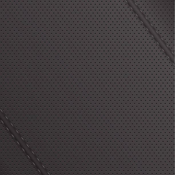 leder-textur. vektor-illustration - lederverarbeitung stock-grafiken, -clipart, -cartoons und -symbole