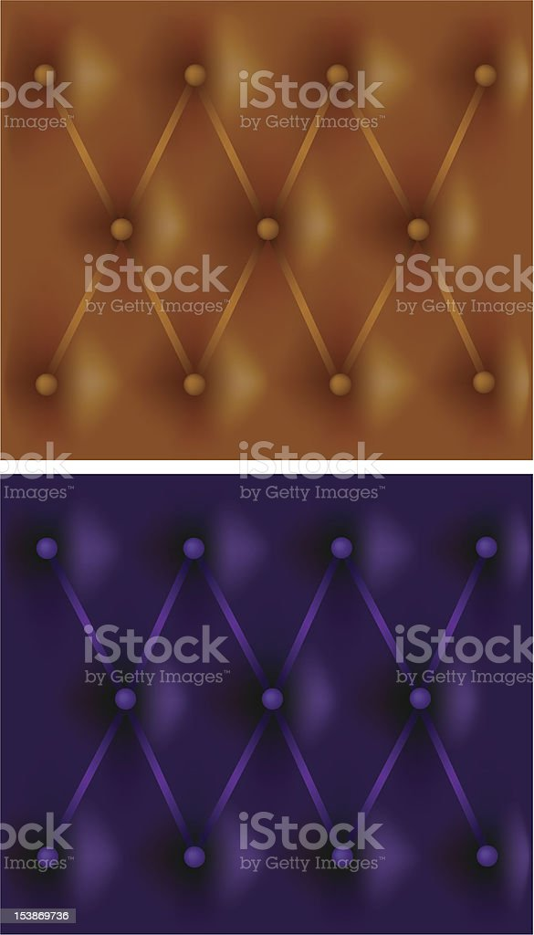 leather upholstery royalty-free stock vector art