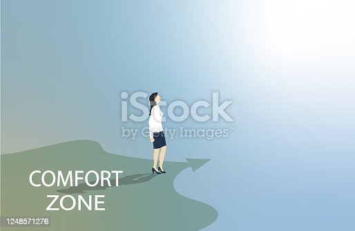 istock Leave your comfort zone 1248571276