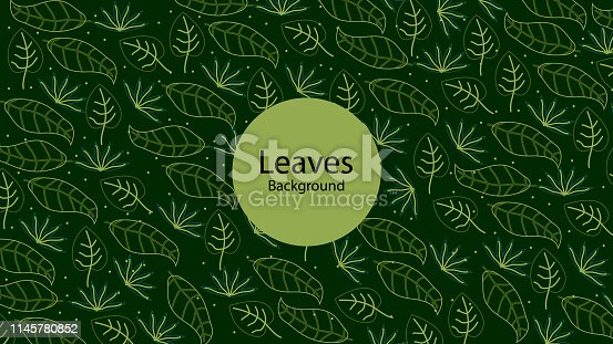 istock Leaves Background 1145780852