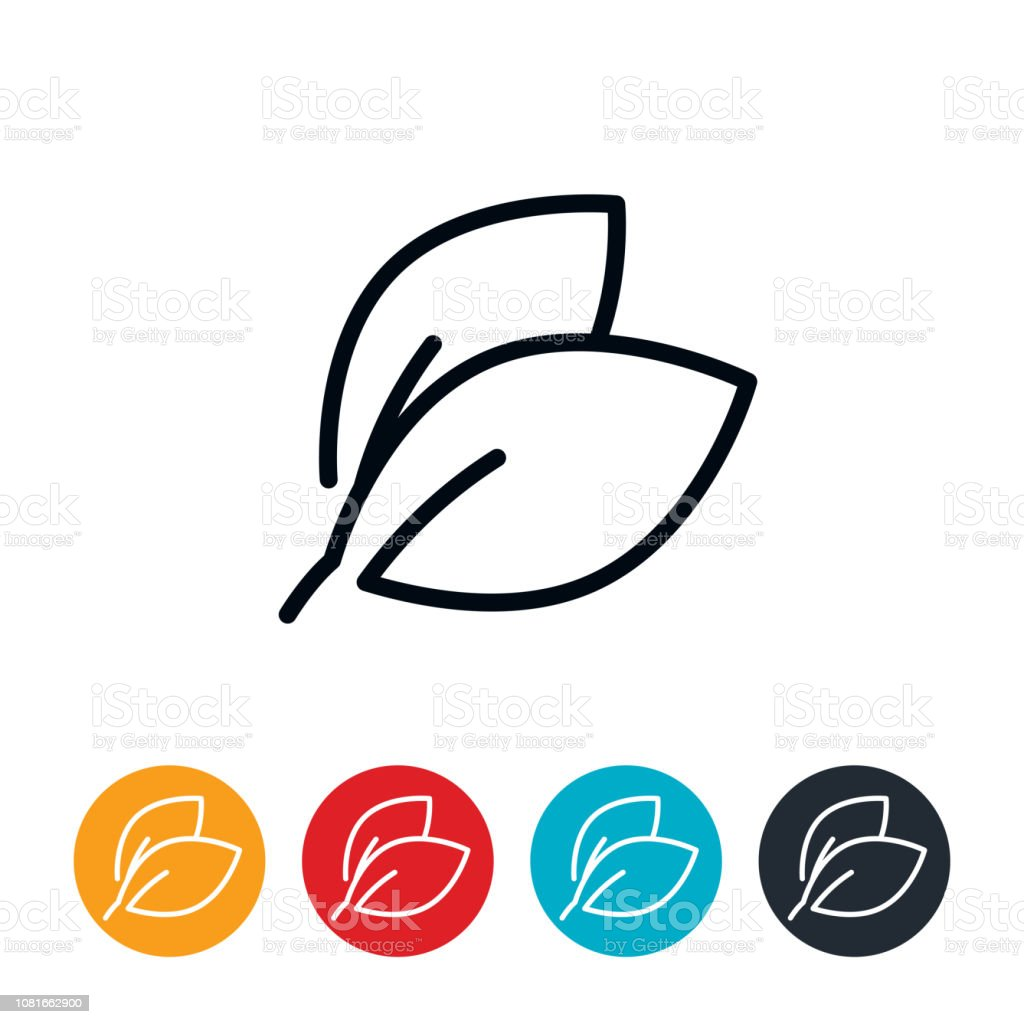 Leaves Icon vector art illustration