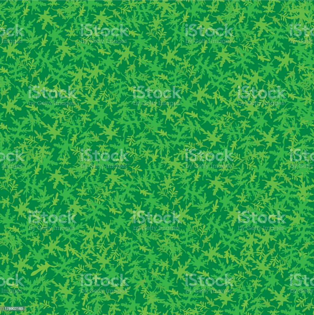 Leaves seamless pattern. Summer background royalty-free stock vector art
