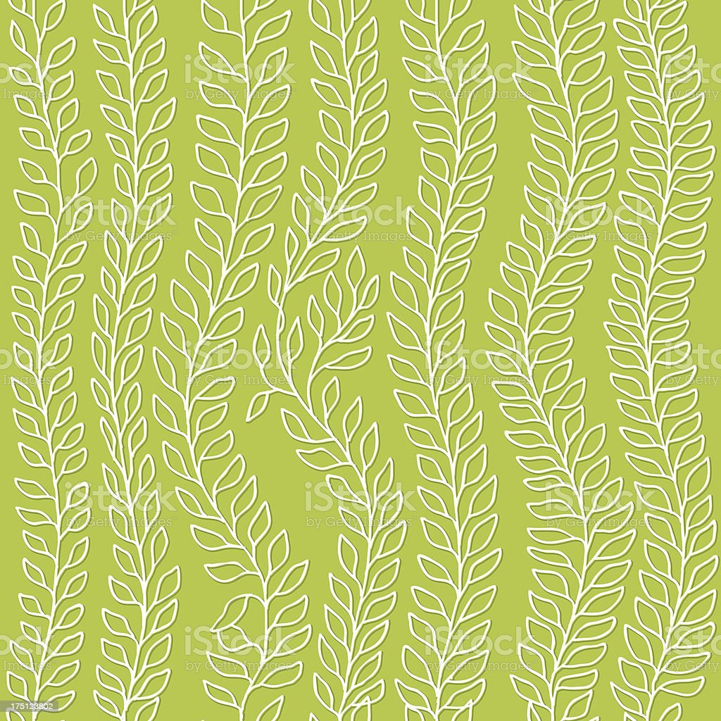 Leaves seamless pattern royalty-free stock vector art