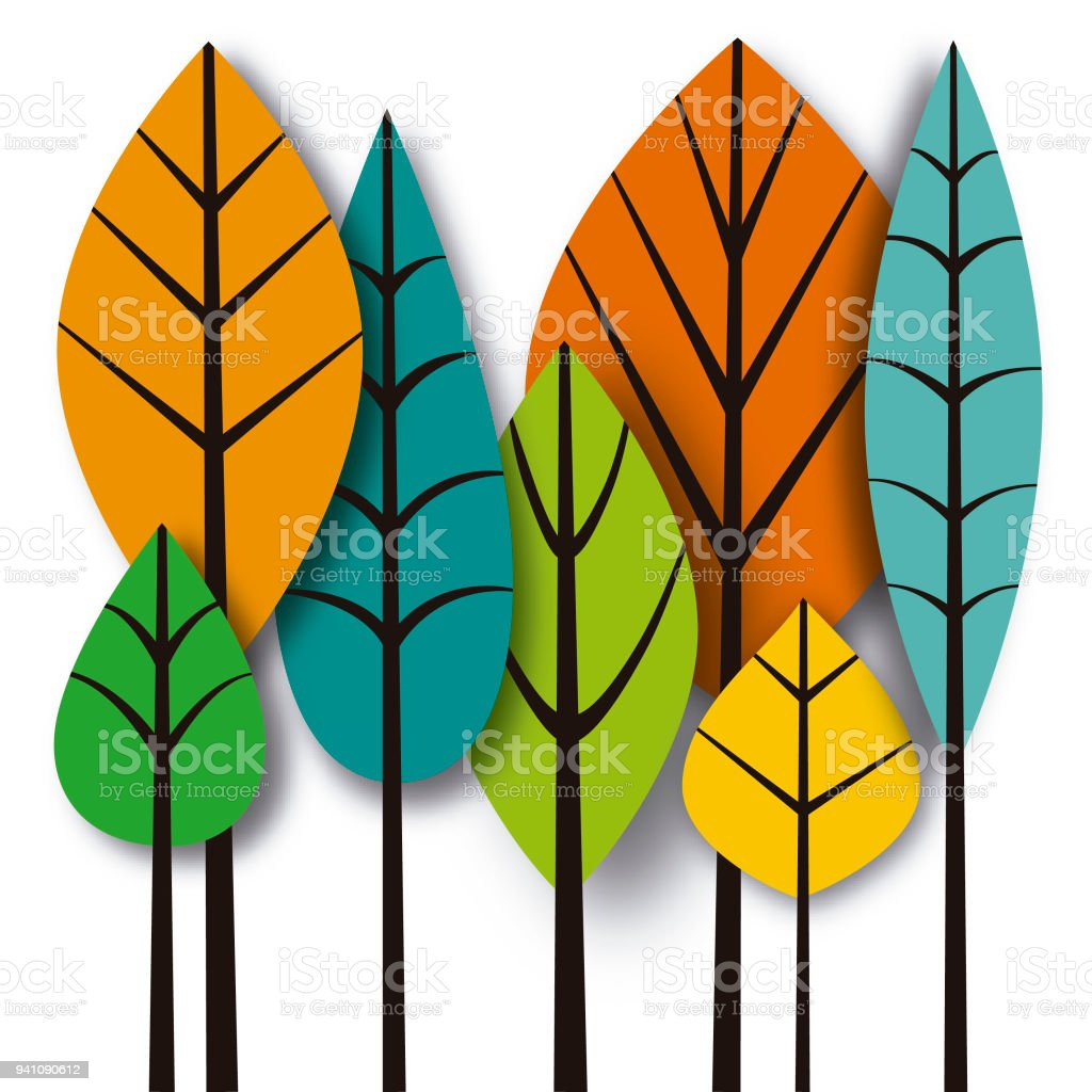 Leaves royalty-free leaves stock vector art & more images of autumn leaf color
