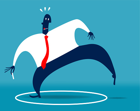 Leaving Your Comfort Zone Stock Illustration - Download Image Now