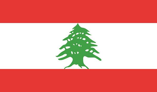 libanon-flagge - beirut stock-grafiken, -clipart, -cartoons und -symbole