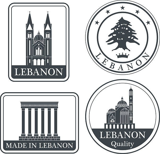 레바논 - lebanon stock illustrations