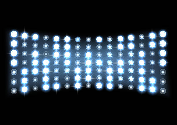 led 投影画面 - ステージのイラスト点のイラスト素材/クリップアート素材/マンガ素材/アイコン素材