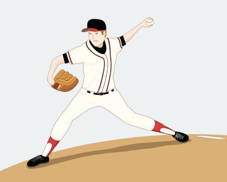 Left-Handed Pitcher