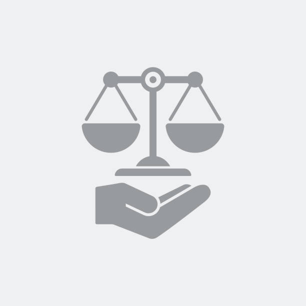 ilustrações, clipart, desenhos animados e ícones de ícone de serviço de assistência jurídica - assistente jurídico
