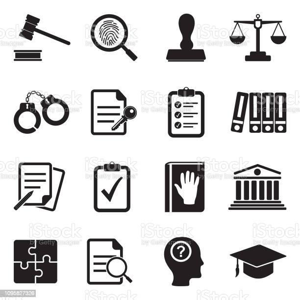 법률 준수 표준 아이콘입니다 블랙 플랫 디자인입니다 벡터 일러스트입니다 검은색에 대한 스톡 벡터 아트 및 기타 이미지